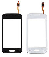 Сенсорный экран тачскрин для Samsung G313H Galaxy Ace 4 Lite/G313HD, белый, Classic White, без фронтальной камеры