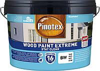 PINOTEX WOOD PAINT EXTREME Белый BW 10л самоочищающаяся краска для наружных работ