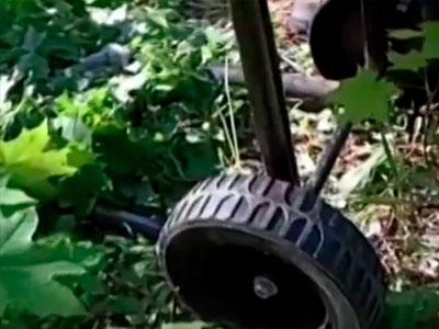 Транспортировочные колёса измельчителя веток Sadko GS-2500