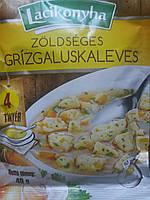 Венгерский Бульон быстрого приготовления с овощами и манными клецками