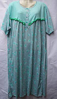 Платье халат батал 56-62 Хлопок (от 5 шт.)
