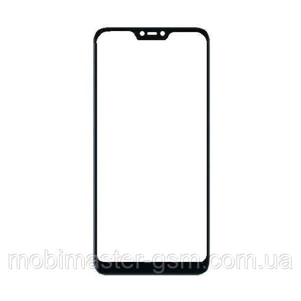 Корпусное стекло Xiaomi Redmi Note 6 Pro черное