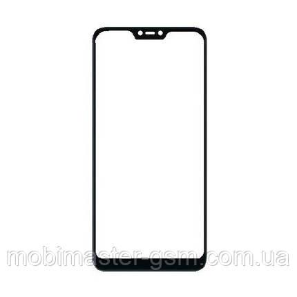 Корпусное стекло Xiaomi Redmi Note 6 Pro черное, фото 2