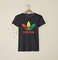 Мужская черная футболка, чоловіча футболка Adidas Originals, Реплика