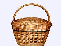 """Корзина плетеная """"Горбатая"""" для фруктов, овощей,покупок"""