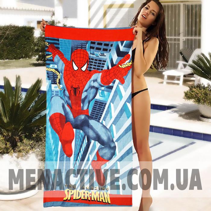 Детское пляжное полотенце Spider Man - №4933