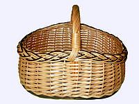 """Корзина плетеная для грибов """"грибник"""""""