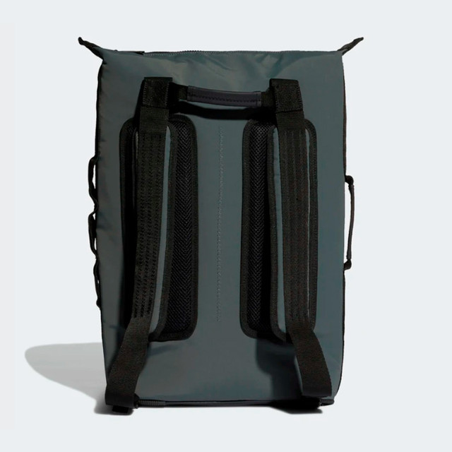 Городской рюкзак ADIDAS NMD SMALL | цвет legend ivy. Вид сзади.