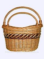 Набор плетеных корзин для покупок, хранения вещей, фруктов, овощей