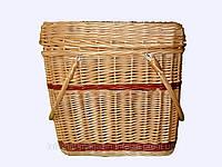 """Корзина плетеная для пикника """"Удобная"""""""