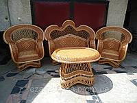 Мебель из натуральной лозы. Плетеная мебель из лозы.