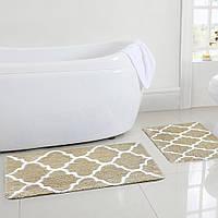 Коврик для ванной Геометрический узор 50 x 80 см