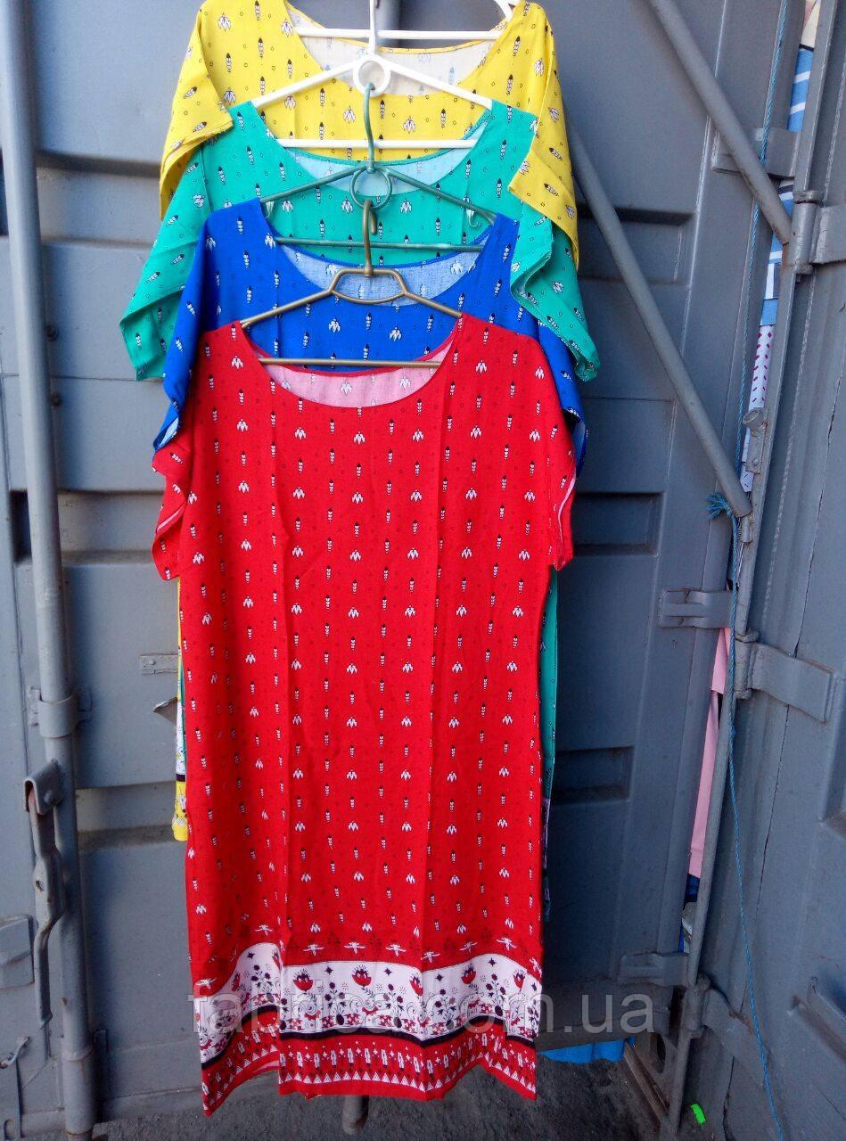 Платья штапель, 52-54