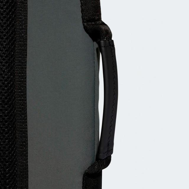 Городской рюкзак ADIDAS NMD SMALL | цвет legend ivy. Боковая ручка.