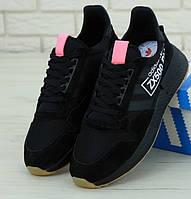 Мужские кроссовки Adidas ZX 500 RM black (Реплика ААА+)