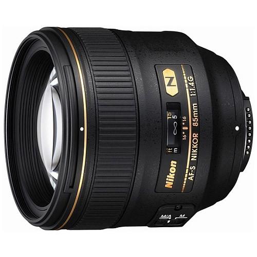 Об'єктив Nikon 85mm f/1.4 G AF-S Nikkor