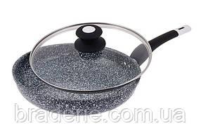 Сковорода універсальна EDENBERG EB 9168 28 см Гранітне покриття