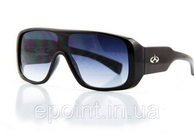 5e5c01612ec5 Мужские спортивные очки закрытого типа, массивная оправа черного цвета,  градиентные линзы - Интернет-