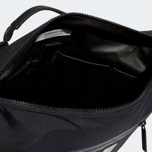 Городской рюкзак ADIDAS NMD SMALL | цвет черный. Фото главного отделения.