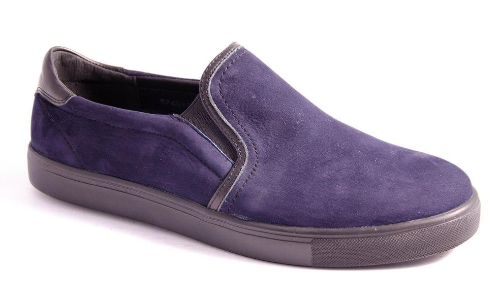 Мокасины мужские синие Romani 5740121 р.40-45