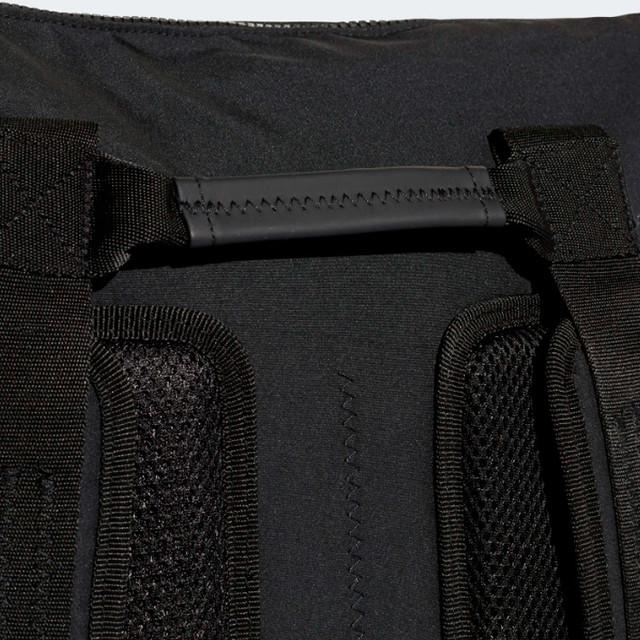 Городской рюкзак ADIDAS NMD SMALL | цвет черный. Фото тыльной части.