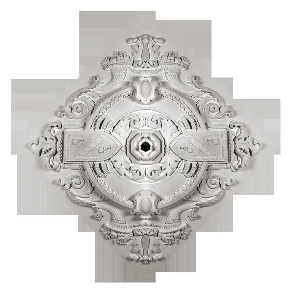 Розетка потолочная из гипса р-88 Ø1100х1100