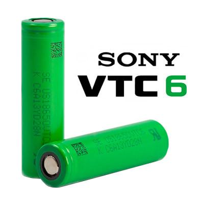 Высокотоковый Аккумулятор Sony VTC6 3120 мА/ч Высокотоковый 30А