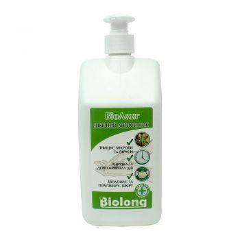 БиоЛонг - средство для дезинфекции рук, кожи и медицинских приборов, с дозатором, 1000 мл (Кожный антисептик)