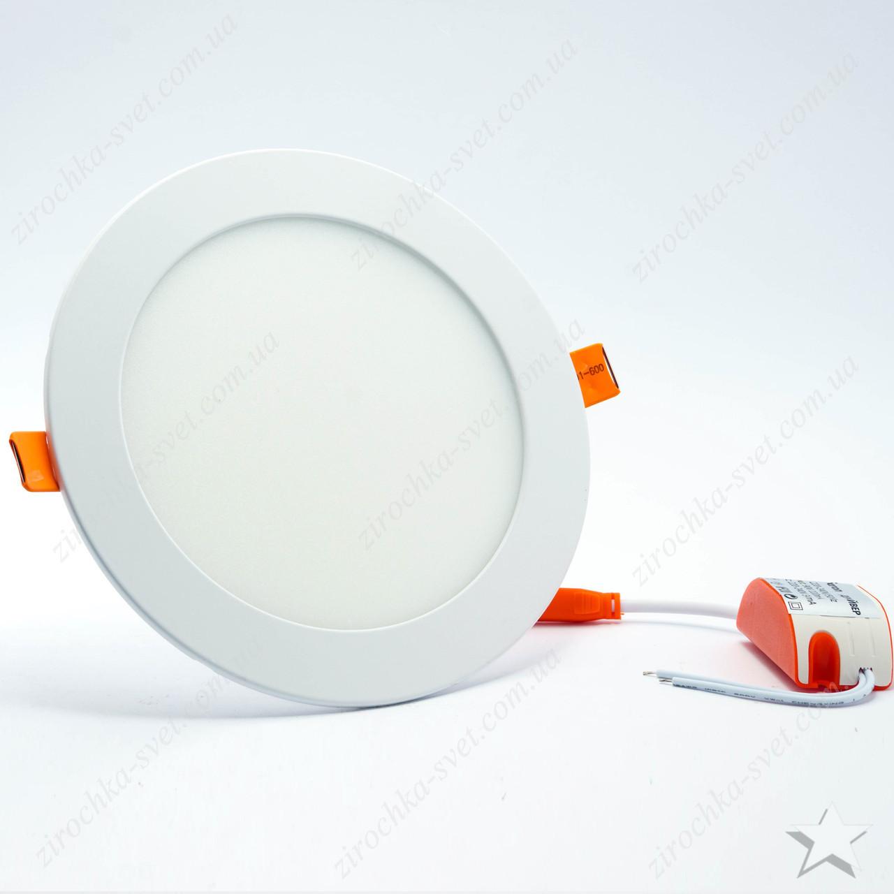 Светильник светодиодный встраиваемый 24w Feron AL510 4000К (встр. диаметр = 285мм)