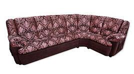 Кожаный угловой диван Марсель