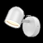 Спотовий світлодіодний світильник (бра) MAXUS MSL-01C 4W 4100K Білий, фото 2