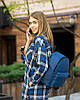Рюкзак KotiСo Fancy 33х25х12 см синий флай