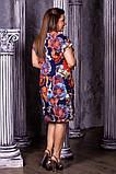 Женское летнее нарядное платье,ткань супер софт,размеры:50,52,54,56., фото 4