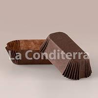 Формы для эклеров и пирожных коричневые (80x35 мм), мин. партия от 2000 шт.