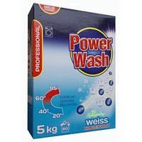 """Стиральный порошок-концентрат из Германии """"Power Wash Professional"""" 5 кг (для белых вещей)"""