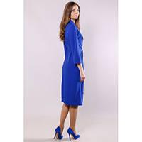 Платье-халат женское синее
