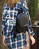 Рюкзак KotiСo Fancy-mini 28х22х9 см чорний флай