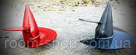 Наконечники сварные  одновитковые диаметром 76 мм (винтовая свая), фото 3