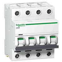 Автоматический выключатель iC60N 4P 63A D Schneider Electric (A9F75463), фото 1