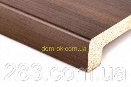 Подоконник Топалит /Topalit (Австрия) , Mono Design,  цвет орех 224 ширина 150 мм