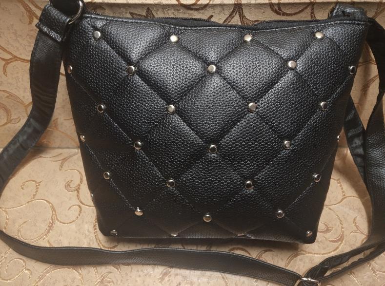 376ce3fc20ca Сумка женская маленькая черная, женский клатч черный - Pull Store -  Термосумки, рюкзаки и