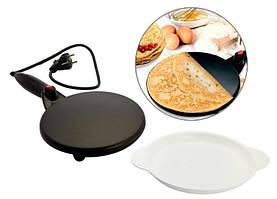 Млинниця електрична, Pancake Maker, 19 см, антипригарна занурювальна млинниця