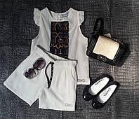 Вафельный костюм D&G , фото 1