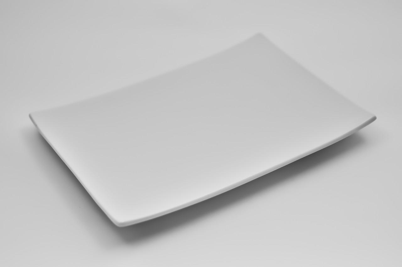 Тарелка прямоугольная  фарфоровая  F0008-8