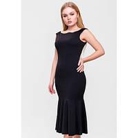 Платье облегающее нарядное черное SFN BFW1955-Black
