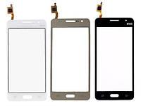 Сенсорный экран тачскрин для Samsung G530H Galaxy Grand Prime /G530F, золотистый, #BT541. оригинал PRC