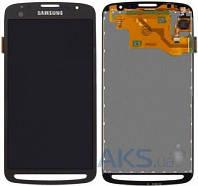 Дисплей (экран) для телефона Samsung Galaxy S4 Active I9295, I537 (Super AMOLED) + Touchscreen Original Black