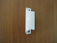 Ручка балконная Ракушка аллюминиевая белая