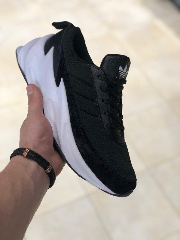 😜Мужские кроссовки черные ADIDAS