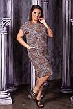 Легкое летнее платье,ткань супер софт,размеры:50,52,54,56., фото 2